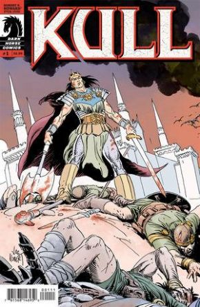 Kull #1 Cover B Joe Kubert (2008) Dark Horse comic book